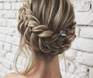 beautiful, blonde, and braids image