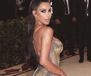 kim kardashian, met gala, and met gala 2018 image