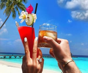 Cocktails, Hot, and ocean image