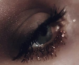 eyes, gold, and hipster image