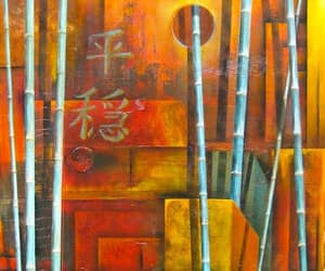 acrylic painting, contemporary abstracts, and original wall art image