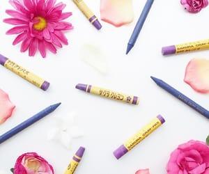 紫 and サクラクレパス image