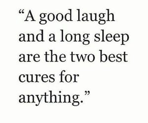 laugh, sleep, and cure image