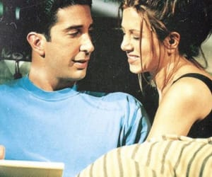 friends, love, and ross image
