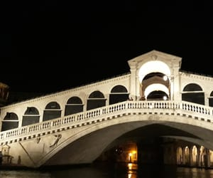 nuit, pont, and venise image