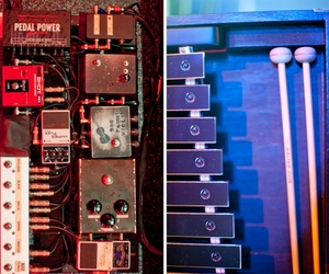 paramore, pedals, and glockenspiel image
