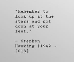 quotes, stars, and stephen hawking image