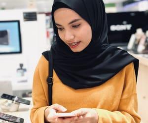 braces, hijâbi, and hijab image