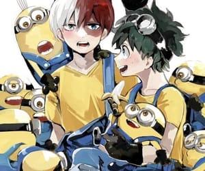 minions and boku no hero image