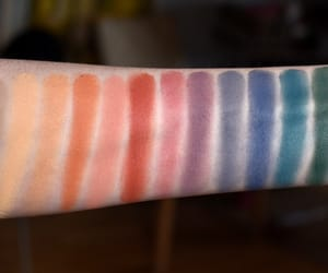 eyeshadow, swatch, and makeup image