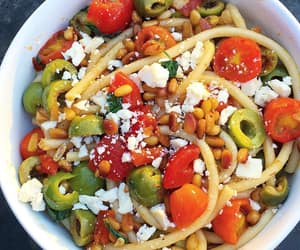 pasta, yummy, and foof image