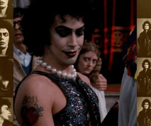 Tim Curry, rocky horror picture show, and dr. frank n. furter image