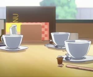 anime, kawaii, and coffee image