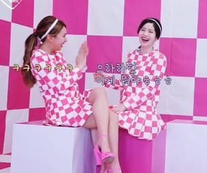 twice, dahyun, and chaeyoung image
