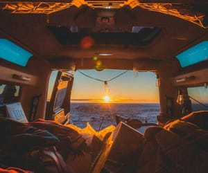 nature, travel, and van image