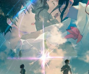 your name, love, and animefilm image