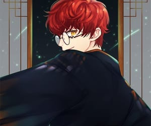 mystic messenger and 707 image