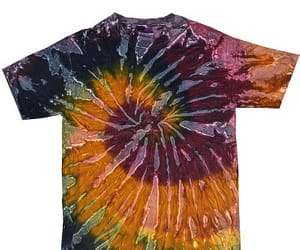 galaxy, tie dye, and summer shirt image