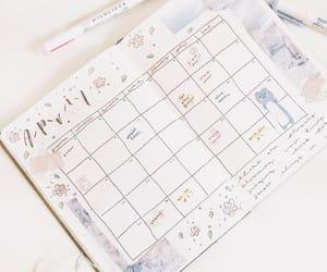 april, planner, and bullet journal image