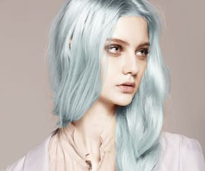 blue, hair, and hairdo image