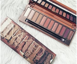 cosmetics, palette, and urban decay image