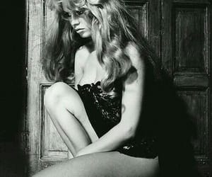 brigitte bardot, b&w, and black and white image