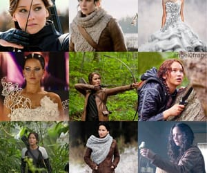 bow and arrow, outfits, and rose image