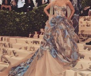 ariana grande, met gala, and dress image