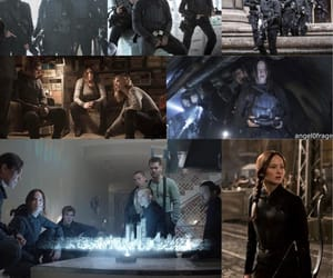 battle, Collage, and the hunger games image