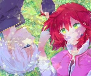 zen, shirayuki, and akagami no shirayukihime image