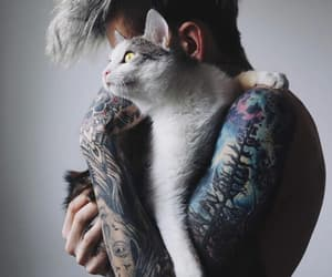 adorable, man, and animals image