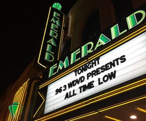 all time low, city, and emerald image