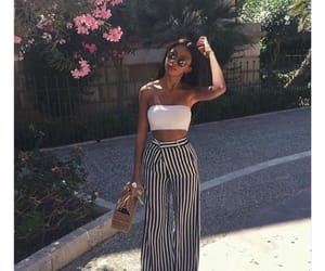 clothes, summer, and tube top image
