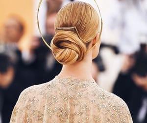 fashion, hair tutorial, and met gala image