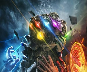 Marvel, thanos, and Avengers image