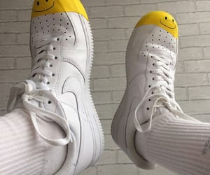 shoes, smiley, and white image