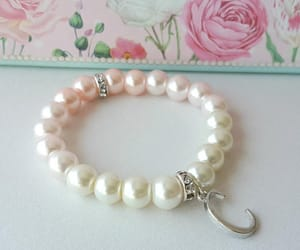 etsy, pearl brACELET, and pearl jewelry image