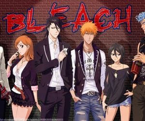 anime, bleach, and Inoue image