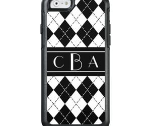 monogram, otterbox, and argyle image