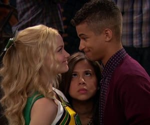 mosh, jordan fisher, and liv and maddie image
