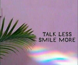 beautiful, rainbow, and smile image