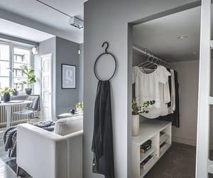 closet, living room, and loft image