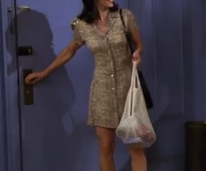 90s, courtney cox, and dress image