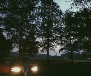 audi, car, and dark image
