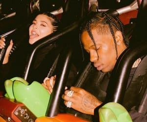 kylie jenner, travis scott, and couple image