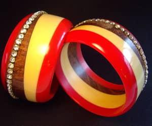 bracelets, etsy, and statement image