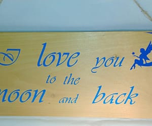 sign, to the moon, and etsy shop image