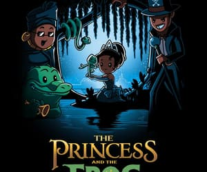 disney and princess and the frog image