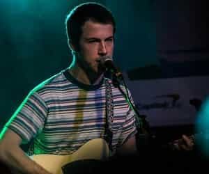 band, 13 reasons why, and dylan minnette image
