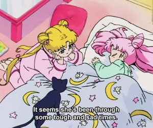 aesthetic, quotes, and sailor moon image
